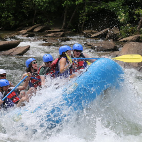 Whitewater Rafting COVID Procedure